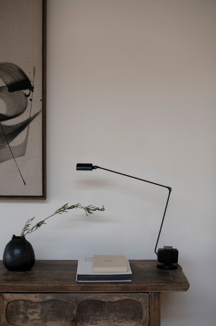 Table lamps with curve appeal